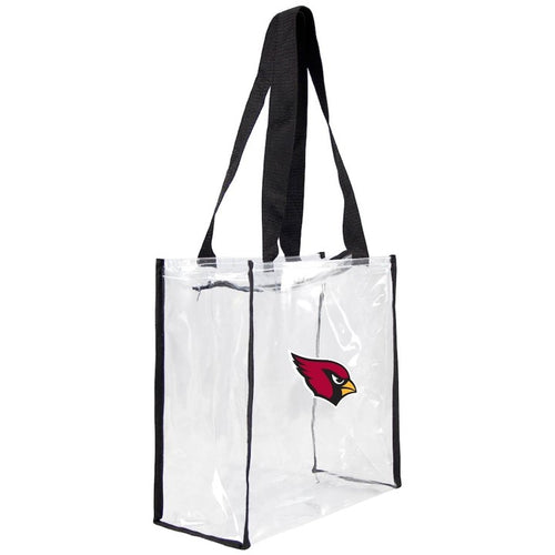 ARIZONA CARDINALS LITTLE EARTH CLEAR TOTE