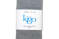 kigo eco tote: x-ray film grey