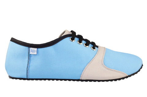 kigo footwear minimalist pai placid blue casual shoe with lacing