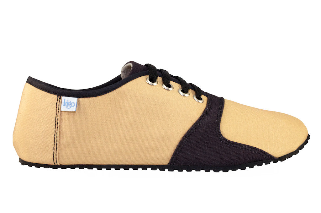 kigo footwear minimalist pai sand casual shoe with lacing