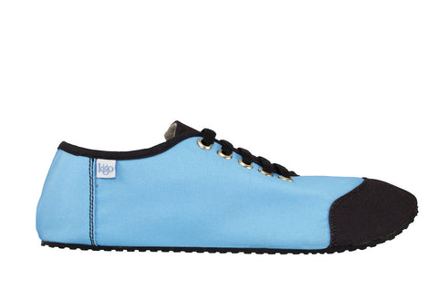 kigo footwear minimalist leon placid blue casual shoe with lacing