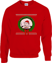 Load image into Gallery viewer, Merry Hissmas Ugly Sweater
