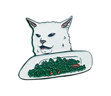 Load image into Gallery viewer, Smudge Salad Enamel Pin