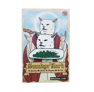 Smudge Salad Enamel Pin