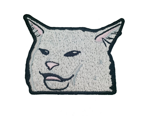 Smudge Iron On Patch