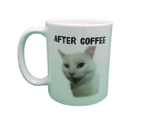 Load image into Gallery viewer, Before Coffee/After Coffee Double Sided Mug