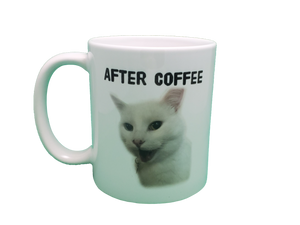 Before Coffee/After Coffee Double Sided Mug