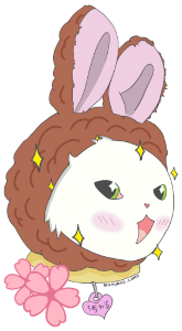 Kawaii Smudge Sticker