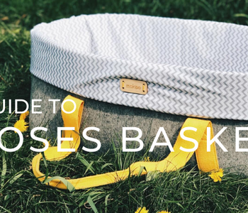 A full guide to Moses baskets - helping babies & parents!