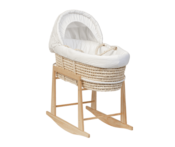 CLASSIC WICKER MOSES BASKET
