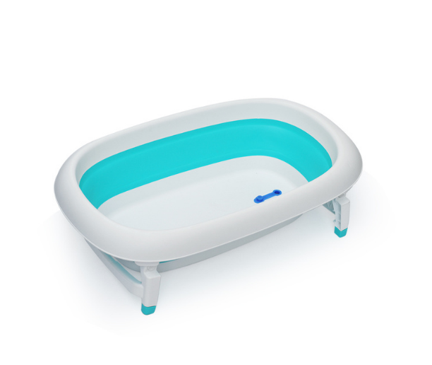 FOLDABLE BABY BATHTUB WITH SUPPORT | RIVIERA TURQUOISE SHIPEE