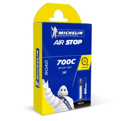 Camera d'aria Michelin Airstop Butyl A1 700x18/25 80MM