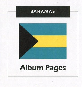 Bahamas - Stamp Album 1859-2016 Album Pages Classic Stamps - Digital Download