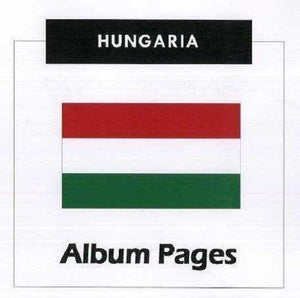 Hungary - Stamp Album 1871 - 2016 Album Pages Classic Stamps Illustrated Digital Download
