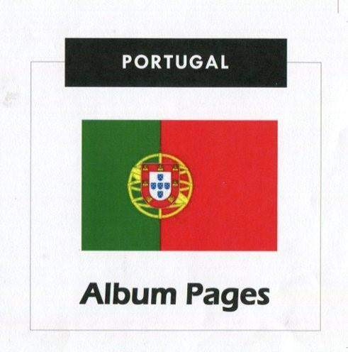 Portugal - Stamp Album 1853- 2015 Album Pages Classic Stamps Illustrated - Digital Download
