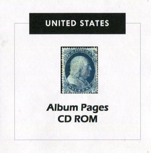 USA Stamp Album 1847-2017 Album Pages Classic Stamps Illustrated - Digital Download