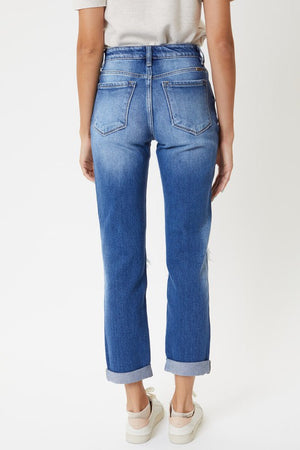 KanCan High Rise Straight Jean