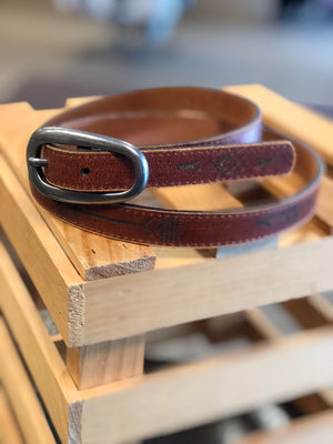 Tan Arrow Belt