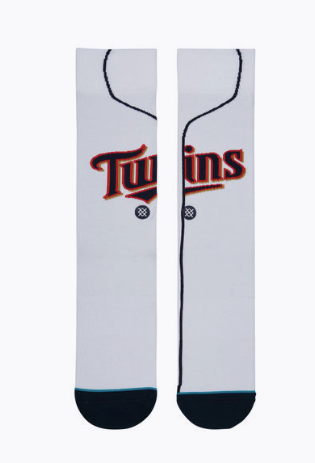 Stance MN Twins Home Socks