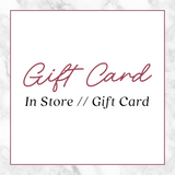 Golden Rule IN-STORE Gift Card