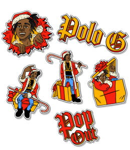 Capalot Christmas Sticker Pack