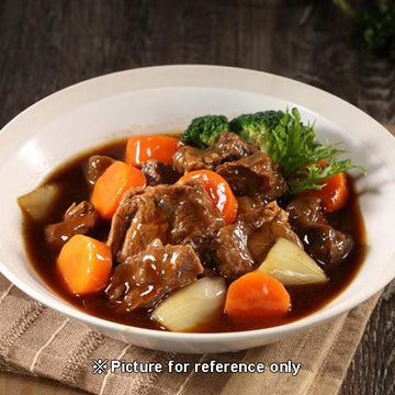 Braised Beef in Red Wine Sauce 紅酒燉牛肉