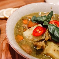 Green Curry Chicken 綠咖哩雞