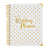 gold spiral wedding planner