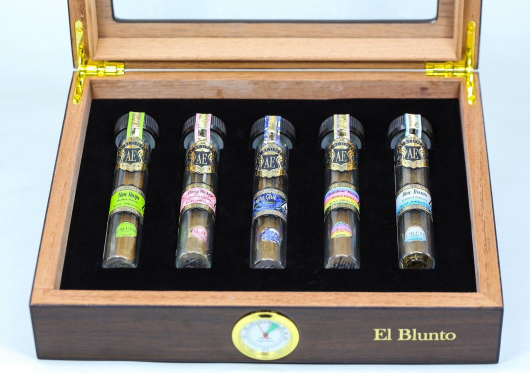 El Blunto Humidor WS with Custom Logo