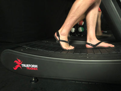 Learn Run Form, Rhythm and Balance on a Non-Motorized Treadmill