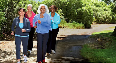 EXERCISE MADE EASY: A walking program