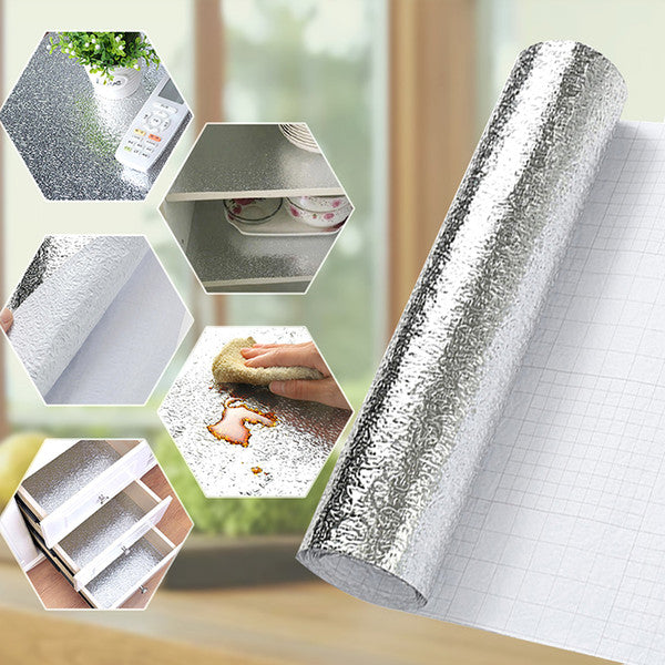 OIL & WATER PROOF ALUMINUM FOIL STICKER – Home Shoppe PH
