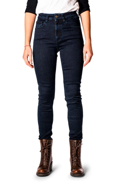 ROKKERTECH JEANS HIGH WAIST DARK BLUE 2413