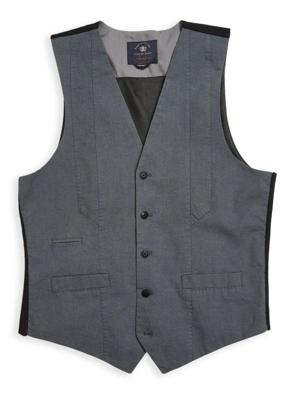 Pieve Spin Gillet - Pale Grey