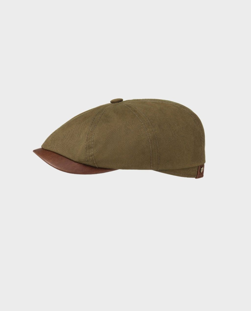 HATTERAS WAXED COTTON OUTDOOR CAP OLIV