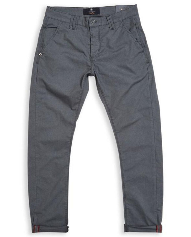 Paulo Spin Trousers - Pale Grey