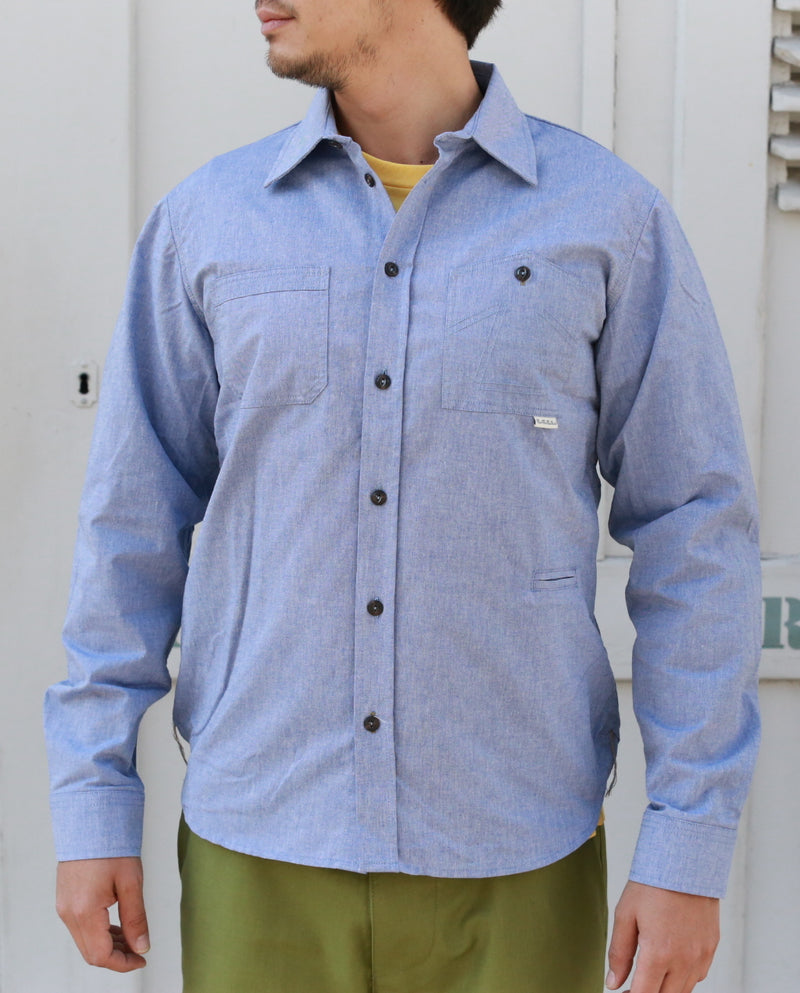 Worker Shirt French Navy Chambray
