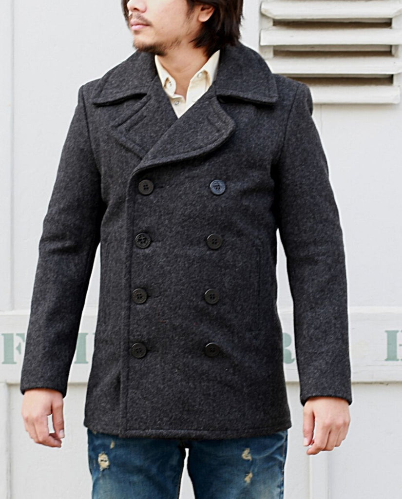 PEA COAT751  dark oxford grey
