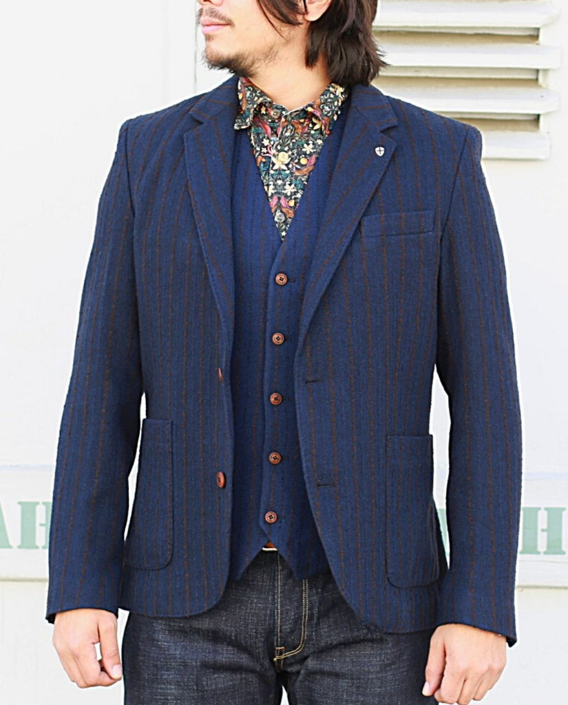 LEOPARDI PILLA BLAZER navy