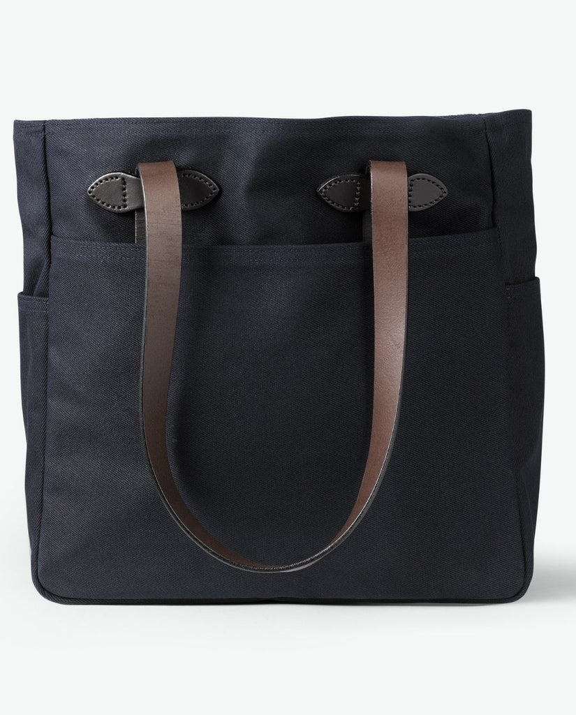 RUGGED TWILL TOTE BAG NAVY