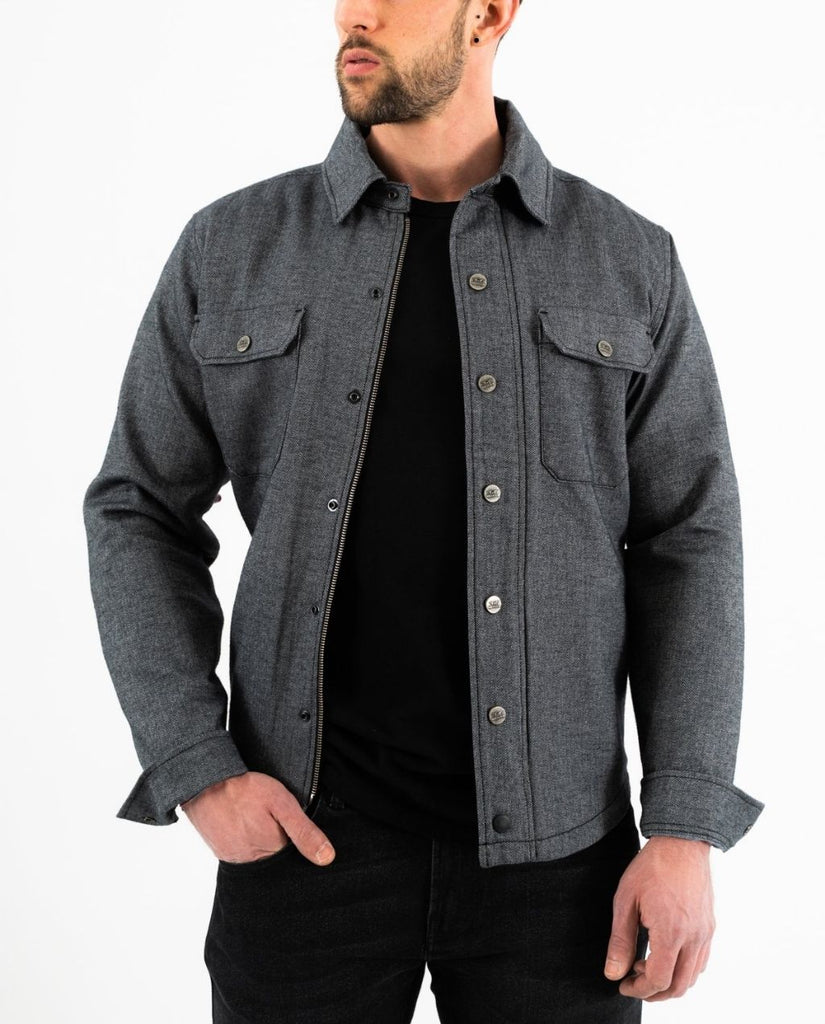 BOSTON RIDER SHIRT GREY 54663