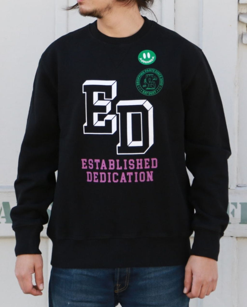 SWEAT ESTABLISHED DEDICATION HEAVY FLEECE Black