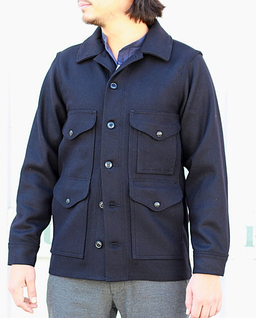 MACKINAW WOOL CRUISER JACKET dark navy