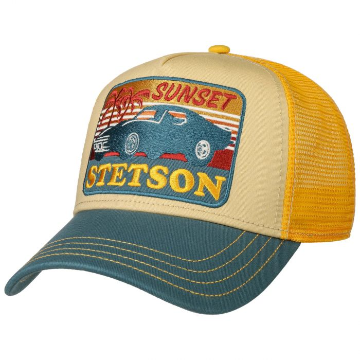 SUNSET TRUCKER CAP GELB