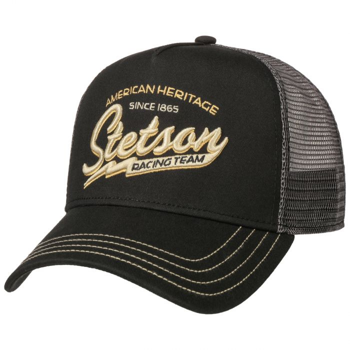 RACING TEAM TRUCKER CAP SCHWARZ