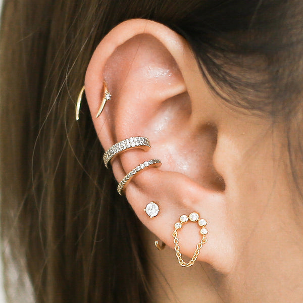 Cartilage Piercings and Ear Cuffs