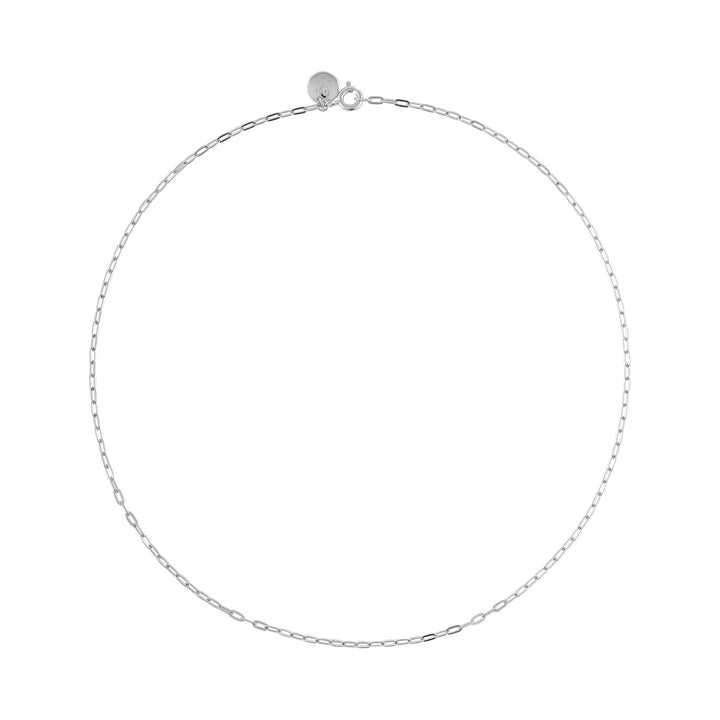 Boyfriend Necklace in Sterling Silver at Maison Miru Jewelry @maisonmiru