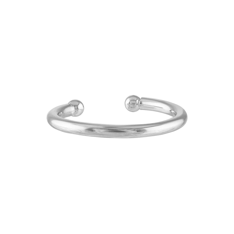 Classic Arc Ear Cuff in Sterling Silver (16mm)
