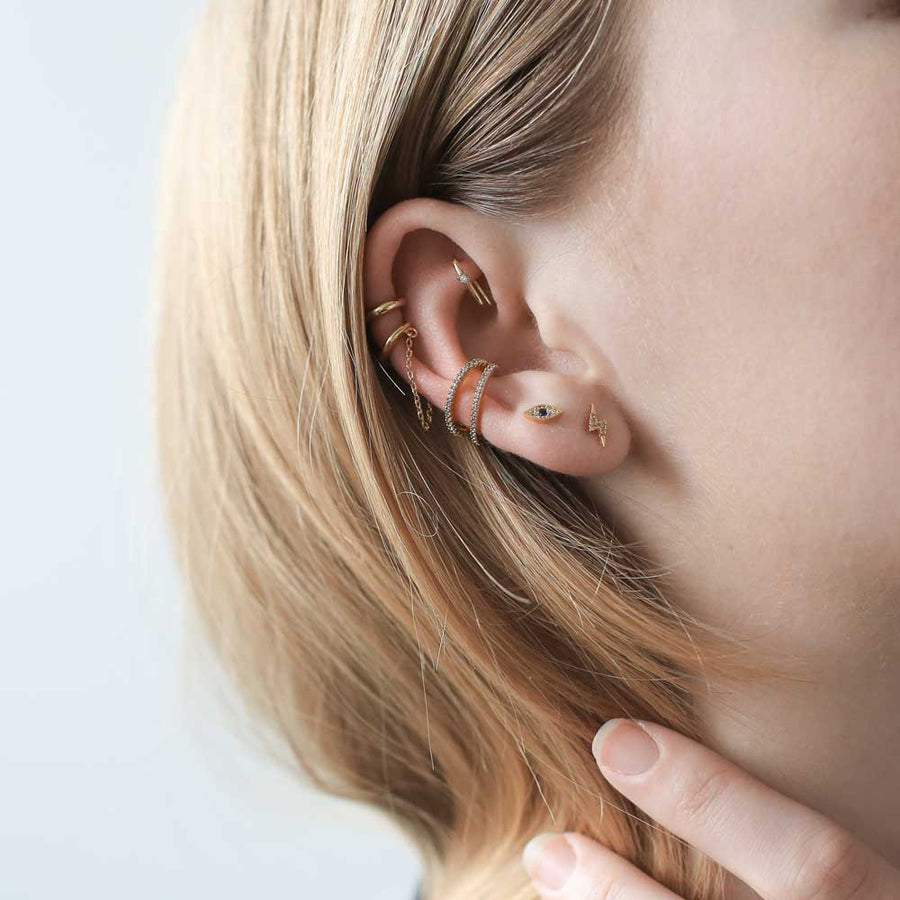 Infinite Ear Cuff at Maison Miru Jewelry @maisonmiru