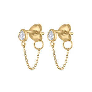 Colette Earrings in 14k Gold